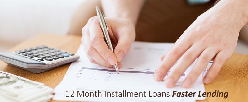 12 Month Loans, 12 Month Loans Lenders