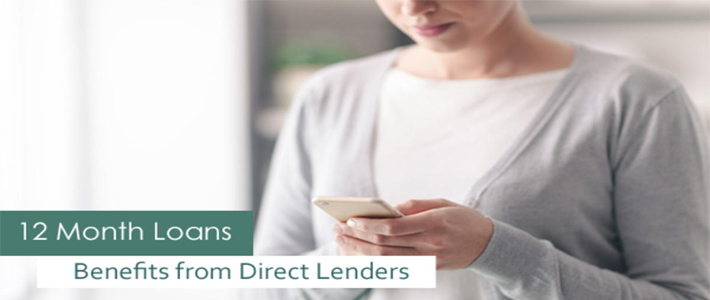 12 Month Loans from Direct Lenders